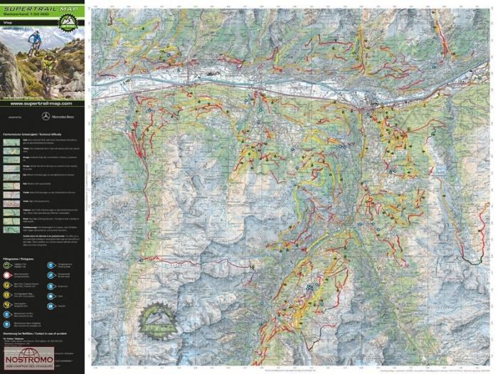 ASCONA - LOCARNO E VALLI | biking map | nostromoweb