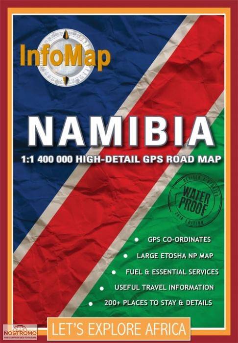 NAMIBIA road map nostromoweb