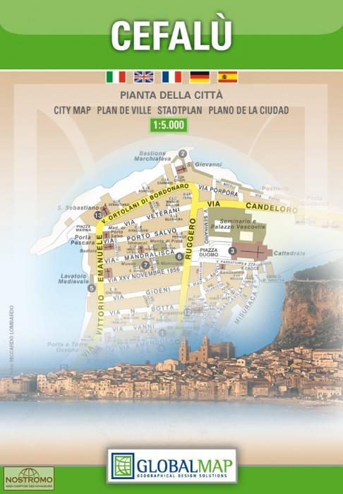CEFALU city map nostromoweb