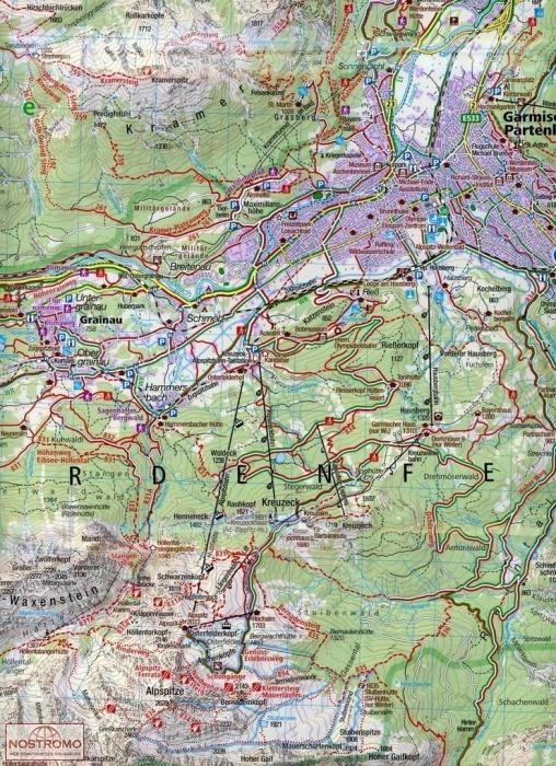 790 GARMISCH-PARTENKIRCHEN - MITTELWALD on babenhausen map, cortina d'ampezzo map, magdeburg map, berchtesgaden map, landstuhl map, germany map, weimar map, freiburg map, albertville map, rothenburg ob der tauber map, karlsruhe map, europe map, bonn map, garmisch trail map, saxony map, koblenz map, dortmund map, oberammergau map, oslo map, duisburg map,