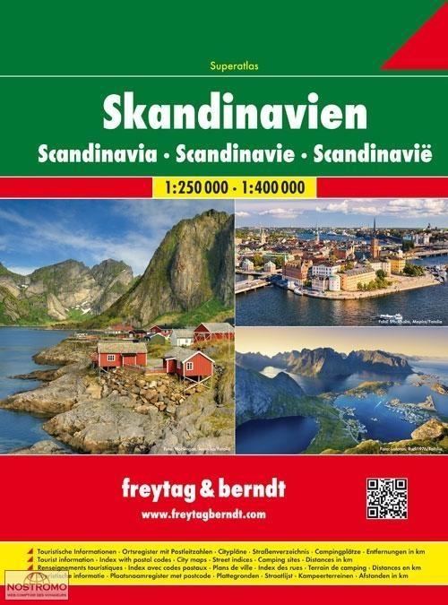 scandinavie atlas routier freytag berndt nostromoweb. Black Bedroom Furniture Sets. Home Design Ideas