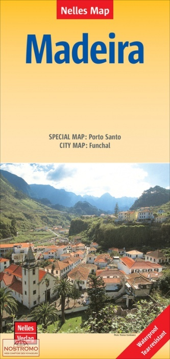Madere carte touristique nostromoweb - Office du tourisme madere ...