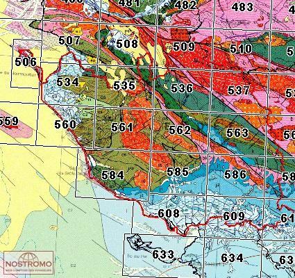 510 CHOLET geological map nostromoweb