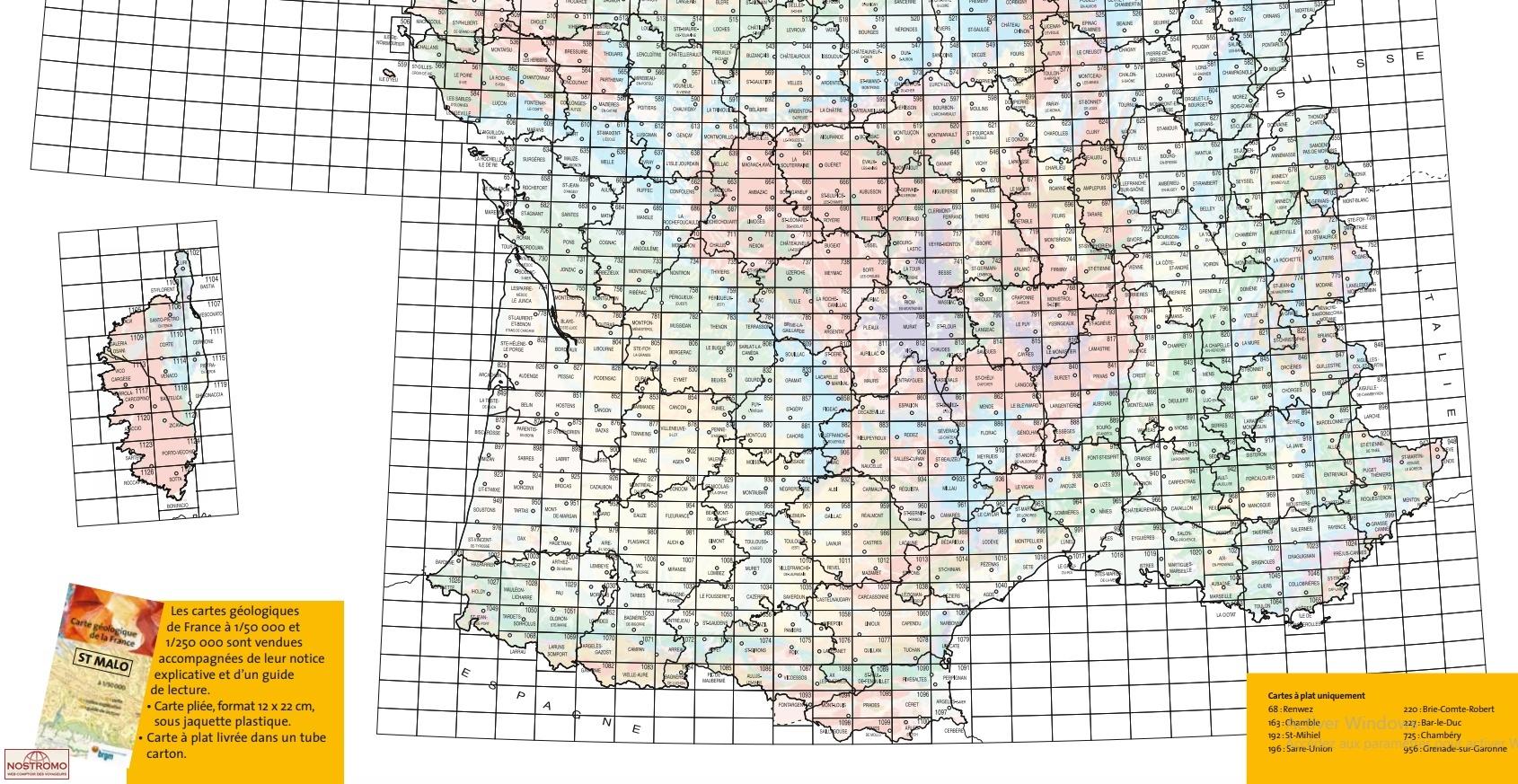 Villers-Cotterêts. 1/50 000 - BRGM