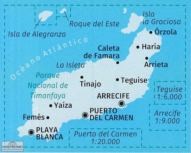 Carte Lanzarote.241 Lanzarote
