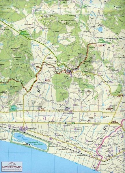 2470 MAREMMA GROSSETO Kompass hiking map nostromoweb