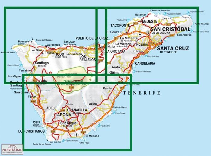 WKE7 TENERIFE NORTH AND SOUTH