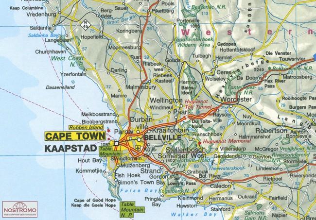 Carte Ign Afrique Du Sud.Afrique Du Sud Namibie Botswana