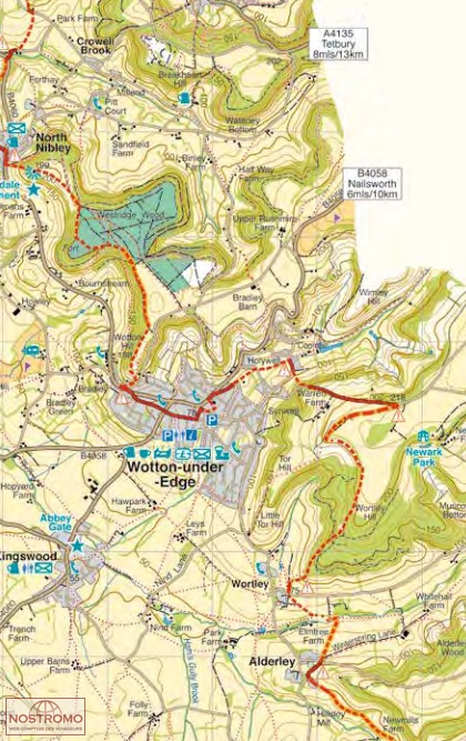 YORKSHIRE WOLDS WAY | Harvey hiking map | nostromoweb