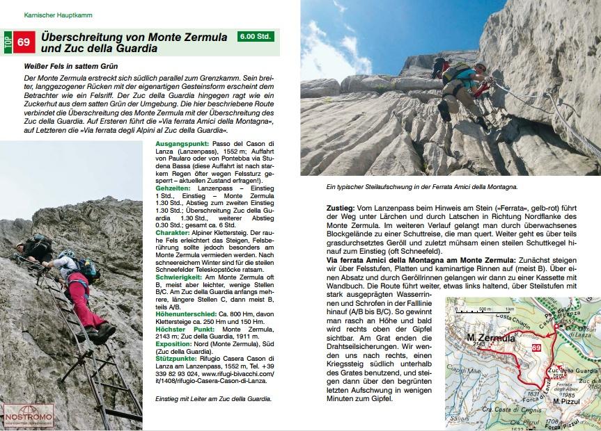 Klettersteig Julische Alpen : Die welt liegt uns zu füßen in den julischen alpen