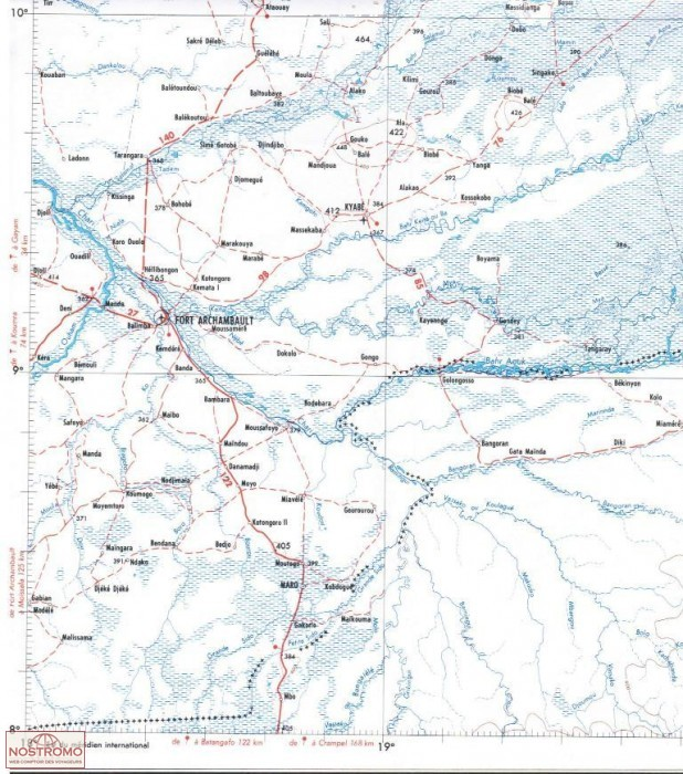 CIM AM TIMAN topographical map nostromoweb