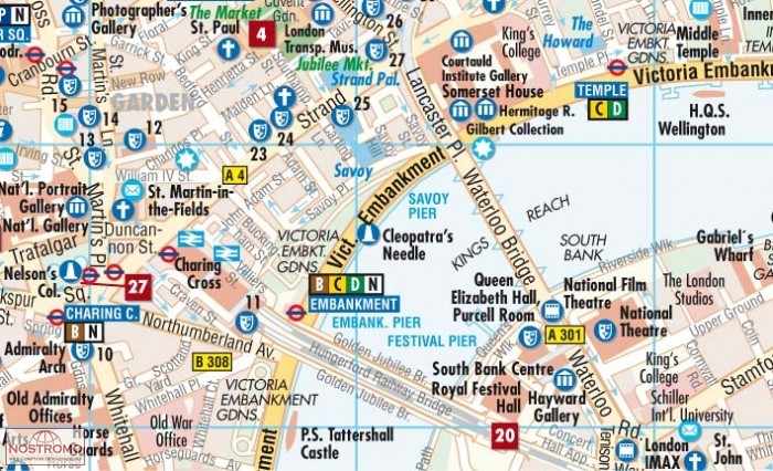 LONDRES | plan de ville Borch | nostromoweb
