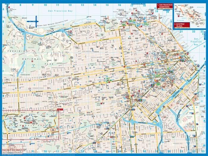 SAN FRANCISCO | Borch city map | nostromoweb