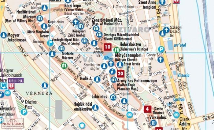 Budapest Plan De Ville Borch Nostromoweb