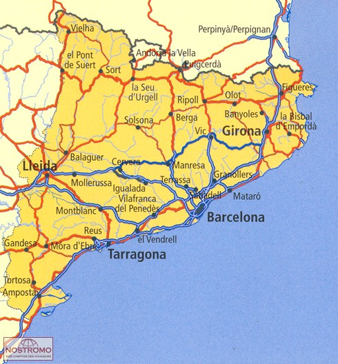 06 CATALONIA road map nostromoweb