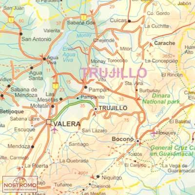 Venezuela travel map nostromoweb venezuela sciox Images